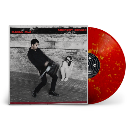 Baba Ali: Memory Device: Signed Recordstore Exclusive Orange + Red Splatter Vinyl LP
