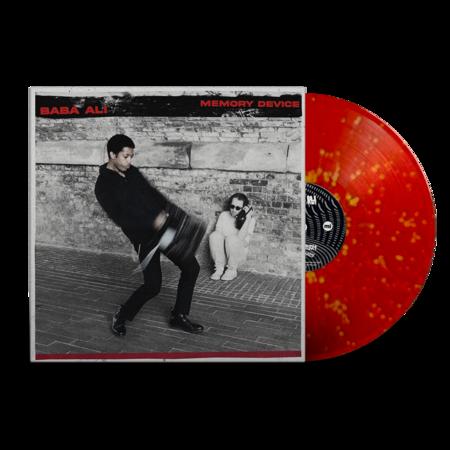 Baba Ali: Memory Device: Signed Recordstore Exclusive Orange + Red Splatter Vinyl LP