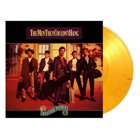 The Men They Couldn't Hang: Silver Town: Limited Edition Flaming Coloured Vinyl