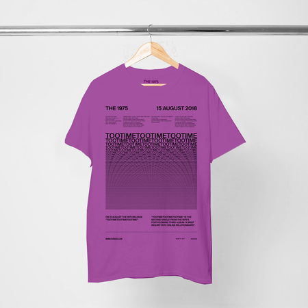The 1975: TOOTIME T-SHIRT VI