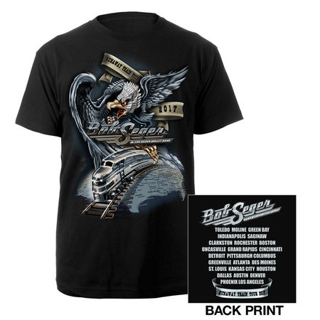 Bob Seger: Runaway Train Small T-Shirt