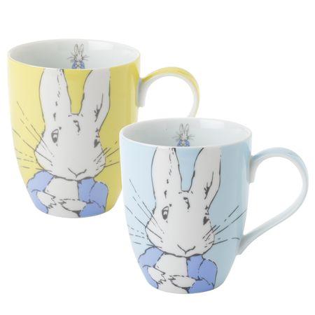 Peter Rabbit: Peter Rabbit Contemporary Mug (Set of 2)