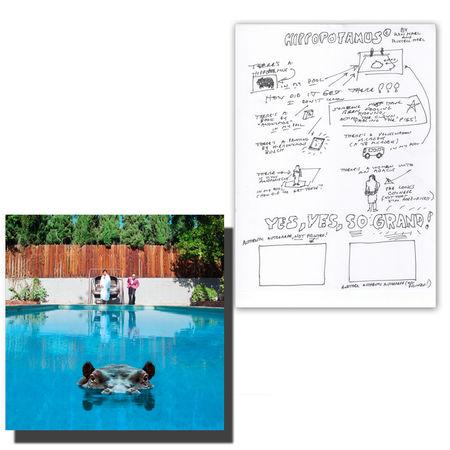 Sparks: Hippopotamus Double Picture Disc LP + Signed Lyric Sheet