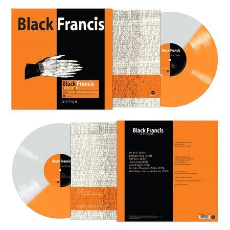Black Francis (Pixies): Svn Fngrs: Limited Edition Orange & White Split Vinyl