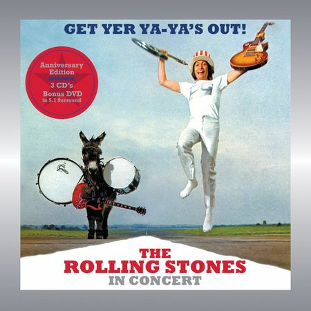 The Rolling Stones: Get Yer Ya-Ya's Out (40th Anniversary) (3CD+ DVD)