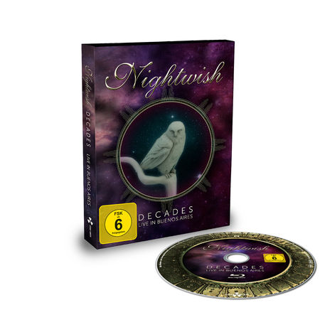 Nightwish: Decades: Live In Buenos Aires - Limited Edition Blu-Ray Digibook