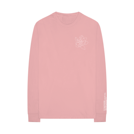 Shawn Mendes: Lost In Japan Pink Long Sleeve - S
