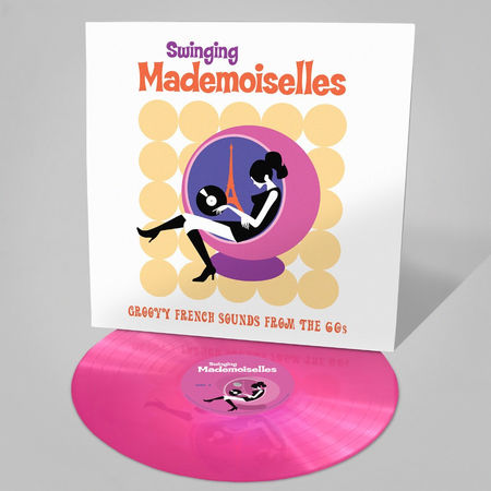 Various Artists: Swinging Mademoiselles: Limited Edition Neon Pink Vinyl
