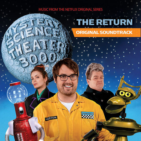 """Shout! Factory: Mystery Science Theater 3000: The Return: Blue-Grey """"Satellite of Love"""" Vinyl"""