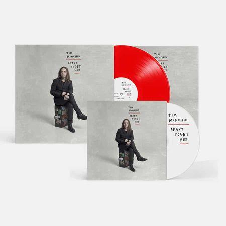 Tim Minchin: Apart Together: Gatefold Translucent Red Vinyl + Signed CD