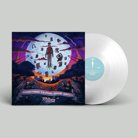 Will Joseph Cook: Something To Feel Good About: Signed Opaque White Vinyl