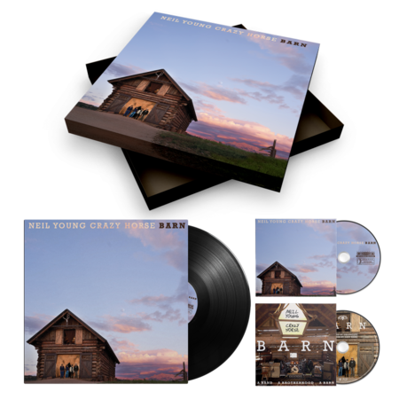 Neil Young & Crazy Horse: BARN: Deluxe Box Set