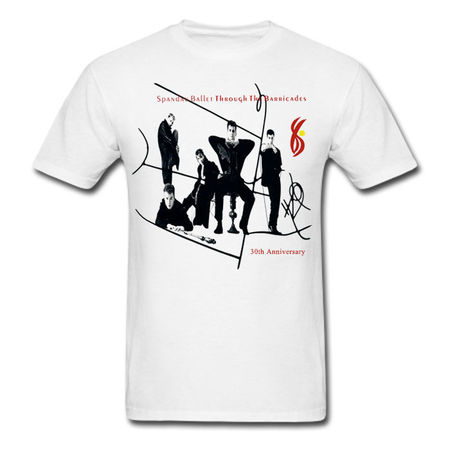 Spandau Ballet: Through The Barricades Anniversary T-Shirt