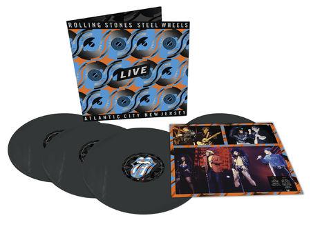 The Rolling Stones: Steel Wheels - Atlantic City, NJ (4LP Black)