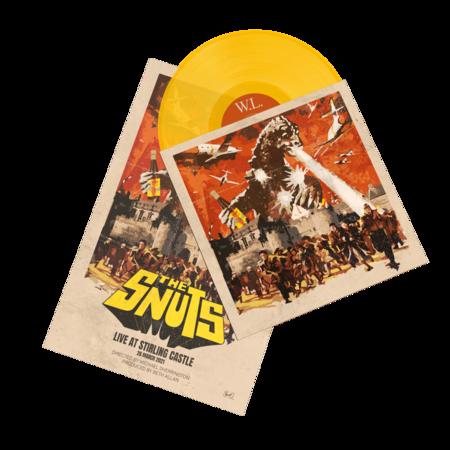 The Snuts: W.L. (Live from Stirling Castle): Orange Vinyl LP + Poster