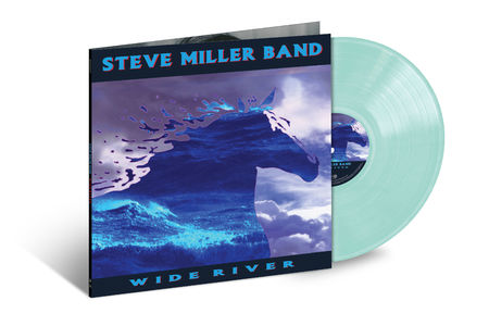 Steve Miller Band: Wide River (LP Translucent Light Blue)