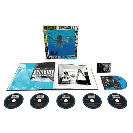 Nirvana: Nevermind: 30th Anniversary Super Deluxe Edition 5CD + Blu-Ray