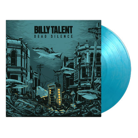 Billy Talent: Dead Silence: Limited Edition Crystal Clear & Solid Silver & Solid Blue Vinyl + Art Print