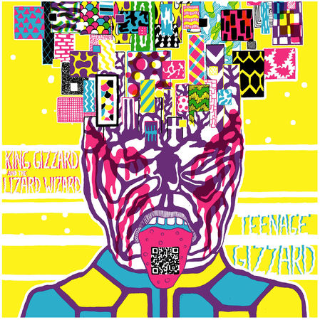 King Gizzard & The Lizard Wizard: Teenage Gizzard [Fuzz Club Official Bootleg]: 180gm Highlighter Yellow Vinyl LP [hand-numbered /500]