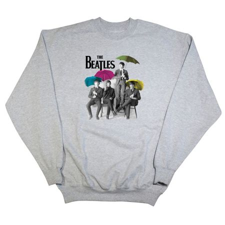 The Beatles: Umbrella Sweatshirt Grey