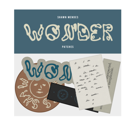 Shawn Mendes: WONDER PATCH SET