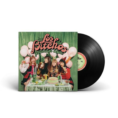Los Bitchos: Let The Festivities Begin!: Black Vinyl LP