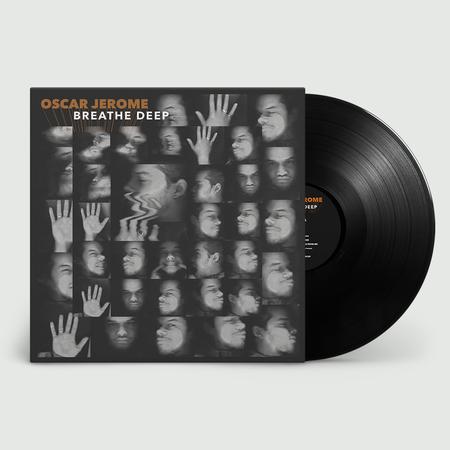 Oscar Jerome: BREATHE DEEP: Vinyl LP + Signed Print