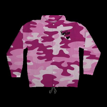 Yungblud: Pink Camo Heartbreak Windbreaker