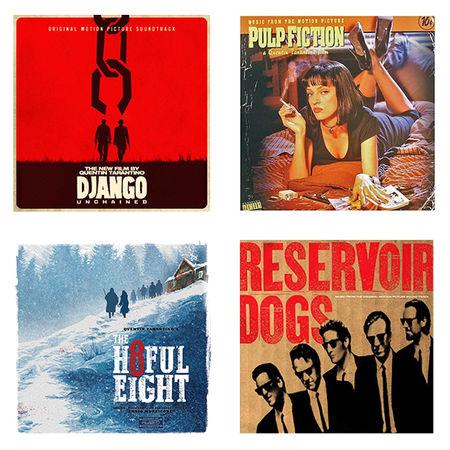 Original Soundtrack: Tarantino Soundtracks - Pulp Fiction, Django Unchained, The Hateful Eight, Reservoir Dogs: Limited Edition Bundle