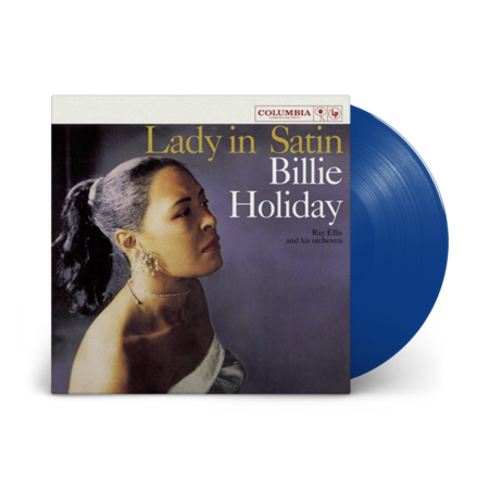 Billie Holiday: Lady In Satin Limited Edition Blue Vinyl (NAD 2021)