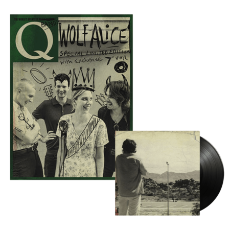 """Wolf Alice: Special Limited Edition Q Magazine with Exclusive 7"""" Vinyl"""