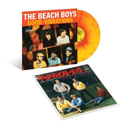 The Beach Boys: Good Vibrations - Sunburst Vinyl EP (Coloured EP / Lithograph)