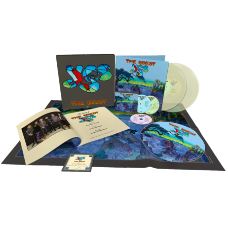 Yes: The Quest: Limited Deluxe Edition Clear Vinyl Box Set