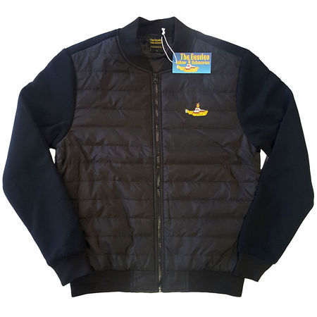 The Beatles: Unisex Quilted Yellow Submarine Jacket