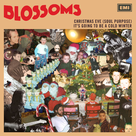"""Blossoms: Christmas Eve (Soul Purpose) / It's Going To Be A Cold Winter 7"""" Vinyl"""