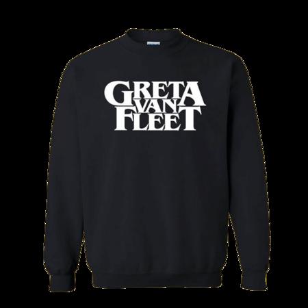 Greta Van Fleet : Greta Van Fleet - Logo Crewneck Large