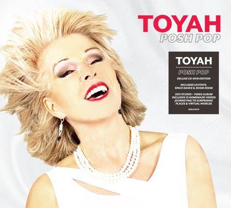 Toyah: Posh Pop: Deluxe Edition CD + DVD