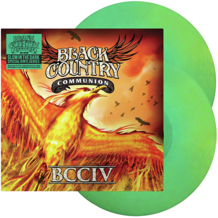Black Country Communion: BCCIV: Limited Edition Glow In The Dark Vinyl