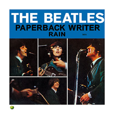 The Beatles: PAPERBACK WRITER LITHOGRAPH