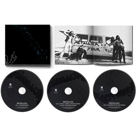 Metallica: The Black Album (Remastered) 3CD Expanded Edition