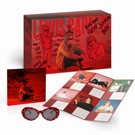 Lewis Capaldi: Limited Edition CD Box Set + Calendar + Sunglasses