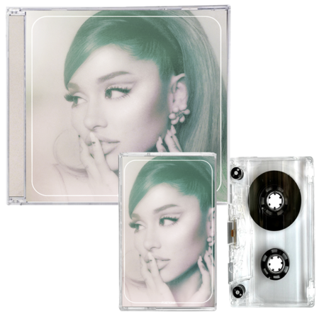 Ariana Grande: positions - cd + exclusive clear cassette
