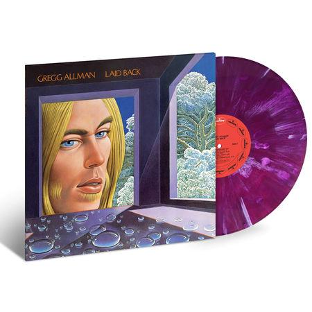 Gregg Allman: Laid Back (Purple & White Marble) (LP)