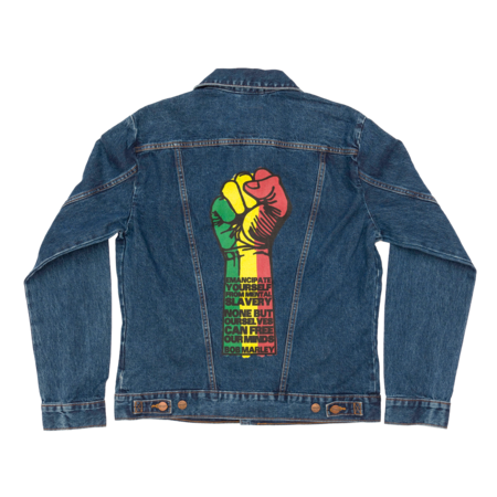 Bob Marley: Fist Denim Jacket