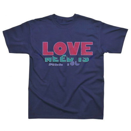 The Beatles: Unisex All You Need Is Love Premium T-Shirt Medium