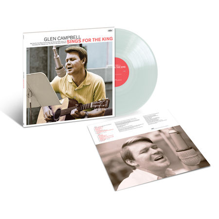 Glen Campbell: Sings For The King: Exclusive - Crystal Clear Vinyl