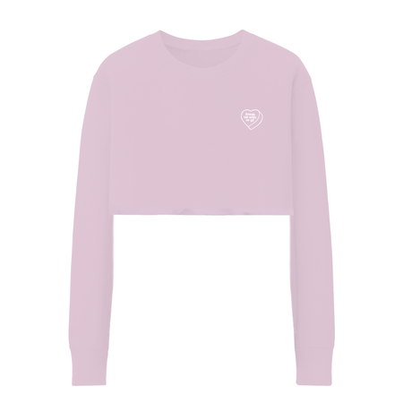 Ariana Grande: BREAK UP WITH UR GF CROPPED CREWNECK - L