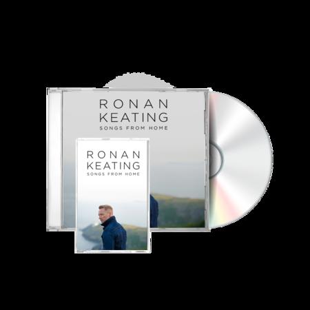Ronan Keating: Standard jewelcase CD and cassette
