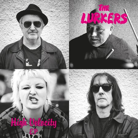 The Lurkers: High Velocity Coloured Pink Vinyl