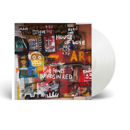 The House of Love: She Paints Words In Red: Limited Edition Clear Vinyl